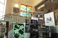 'Cowtown' project exhibition 'The Ledge' Brixham Library.