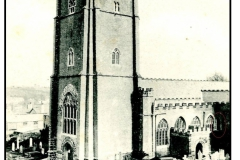 Victorian Photograph of St Mary's.