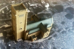 St Mary's Church tower - model in progress.