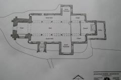 Architects drawing of St Mary's Parish Church.
